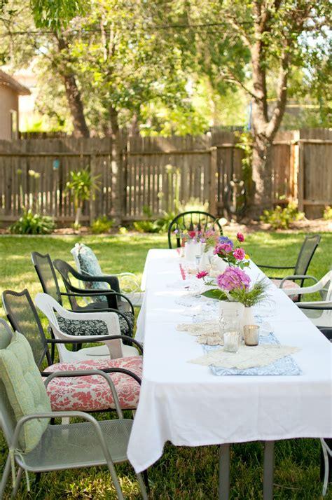 Backyard Ideas For Summer by Domestic Fashionista Summer Backyard Birthday