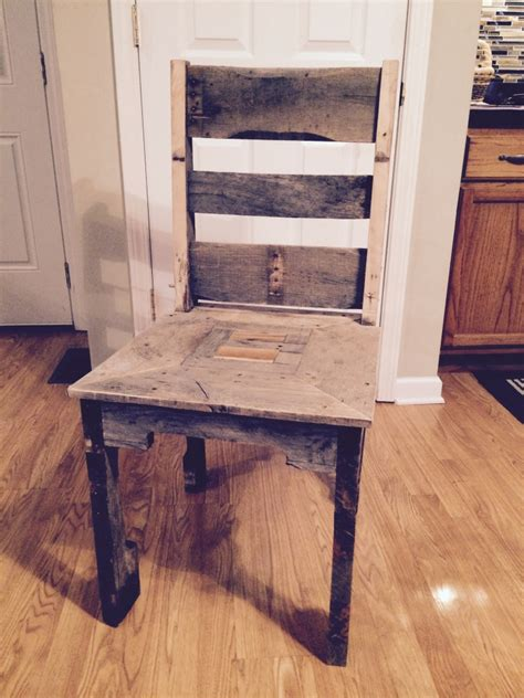 pallet dining room chair pallet ideas recycled