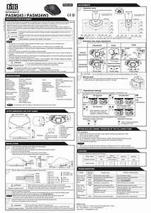Ditec Installation Instructions