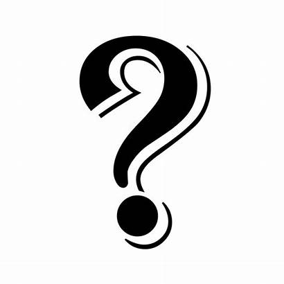 Question Mark Mystery Fancy Interrogation Point Clip
