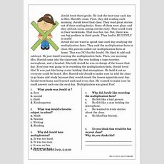 Reading Comprehension For Beginner And Elementary Students 4  Reading  Reading Comprehension