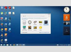 How To Get The Desktop Gadgets In Windows 81 YouTube