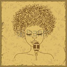 hairstyle illustration    glamour magazine