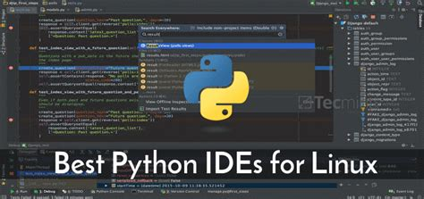 Best Python Editor 8 Best Python Ides For Linux Programmers