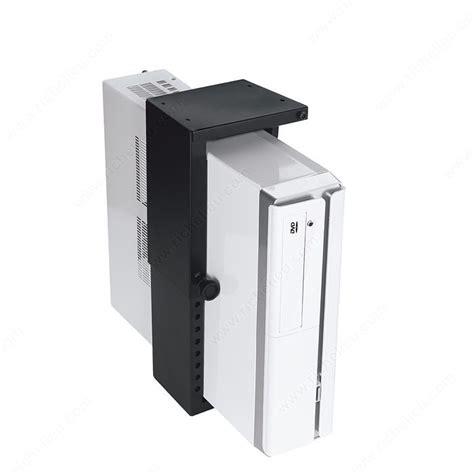 mini cpu holder fixed mount richelieu hardware