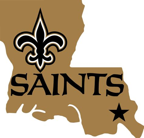 orleans saints alternate logo national football