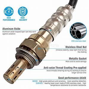 2x O2 Oxygen Sensor Up Downstream For Chrysler Pt Cruiser