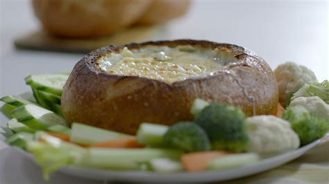 les recette cuisine trempette chaude dans un bol de cuisine futée