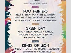Mad Cool Festival 2017 Cartel Entradas Horarios