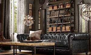 Steampunk Living Room Ideas