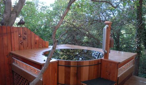 redwood soaking tub wooden cold tub water i these center