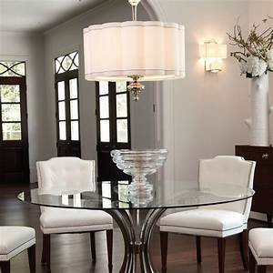 Light over table in kitchen option depending on how big