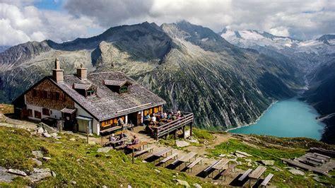 zillertal alps tyrol austria hd desktop wallpaper