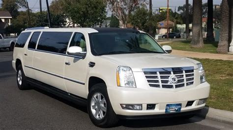 cadillac escalade  sale ws   sell limos