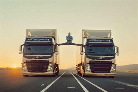 le grand ecart de jean claude van damme pour volvo trucks