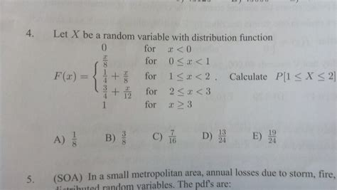 probability distributions p 1 actuary question mathematics stack exchange