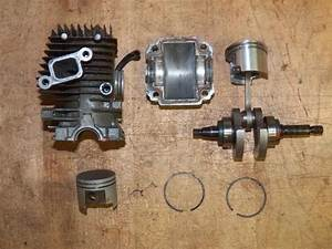 Stihl Ms192t Chainsaw Shortblock Piston And Cylinder