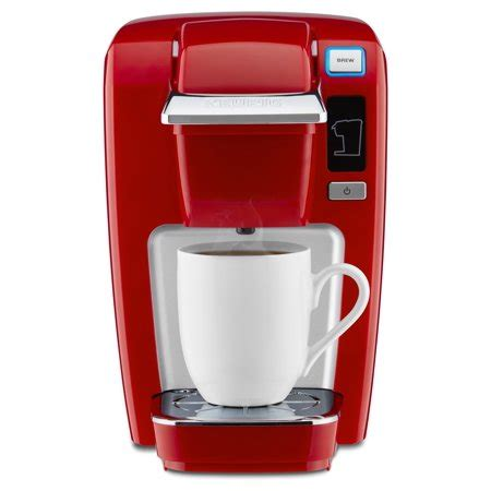 There are also carafe coffee pods that fit keurig's plus. Keurig K-Mini K15 Single-Serve K-Cup Pod Coffee Maker, Chili Red - Walmart.com