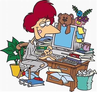 Messy Clipart Desk Clipground