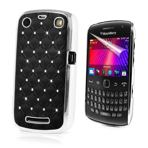 cassing blackberry 9360 chrome design diamante bling cover for blackberry