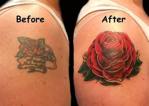 brilliant tattoo cover  jobs   thechive