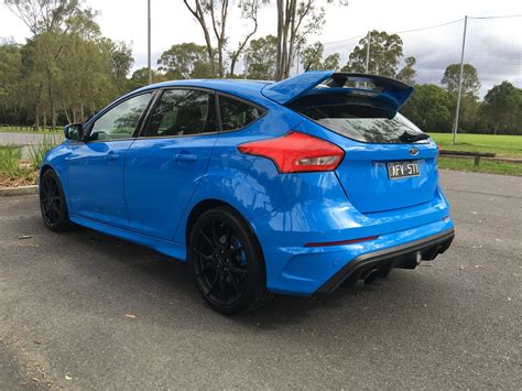 ford focus 2017 ford focus rs review caradvice