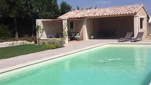 Pool House Toit Plat : constructeur les toits des alpilles cr ation d 39 un pool ~ Melissatoandfro.com Idées de Décoration