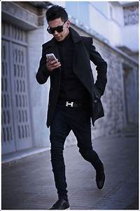 Black Jeans For Men - Look VIP Anytime (40 Pics)