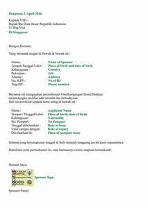 sample invitation for sponsorship letter us visitor visa With sponsor letter template for visa