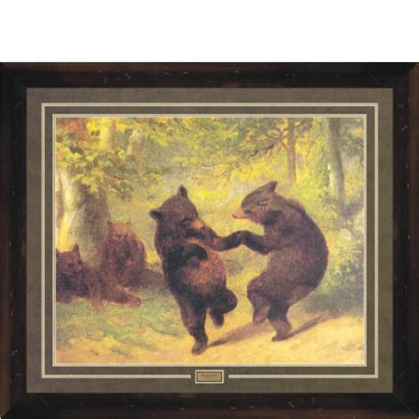 Dancing Bears   Framed Print/Picture ? Wildlife ? CampFitters