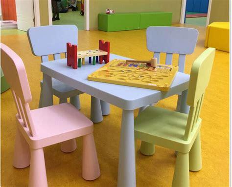 Tavoli E Sedie Per Bambini, Con Spessore Tavolo