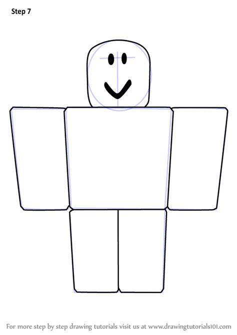 learn   draw noob  roblox roblox step  step