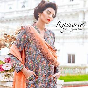Kayseria Latest Winter Prints Best Shawls & Dresses 2014 ...