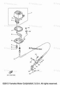 Yamaha Atv 2009 Oem Parts Diagram For Meter