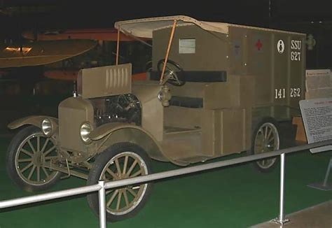 Model T Ambulance by Click To Enlarge