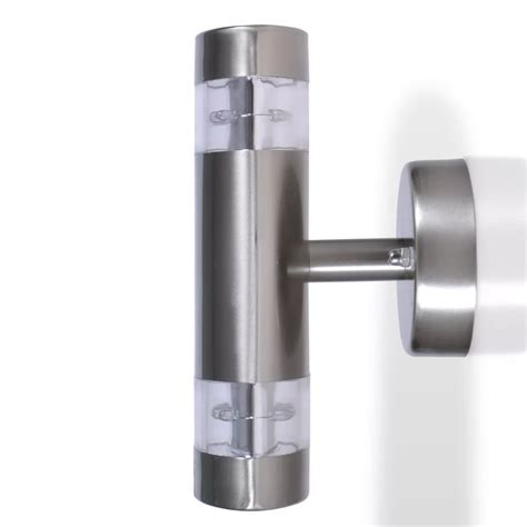 led wall light l indoor outdoor stainless steel www