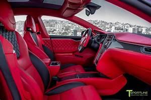 Red Multi-Coat Tesla Model S - Bentley Red Interior in 2020 | Tesla model s, Tesla, Red interiors