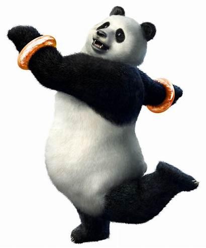 Panda Tekken Fighting Pandas Tournament Tag Character