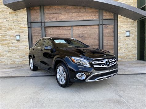 Hill start assist · electronic brakeforce distribution · electronic parking brake: Certified Pre-Owned 2019 Mercedes-Benz GLA GLA 250 AWD 4MATIC®