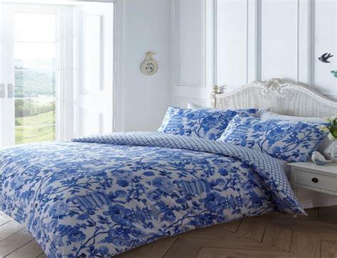 Floral Quilt Duvet Cover & Pillowcase Bedding Bed Set