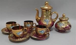 Service Tasse à Café : murano xx service caf compos de 4 tasses et soucoupe ~ Teatrodelosmanantiales.com Idées de Décoration