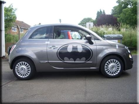 Fiat 500 Graphics by Fiat 500 Batman Graphics Vinyl Creations