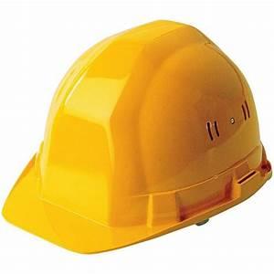 Casque De Chantier Personnalisé : casque de chantier jaune ~ Dailycaller-alerts.com Idées de Décoration