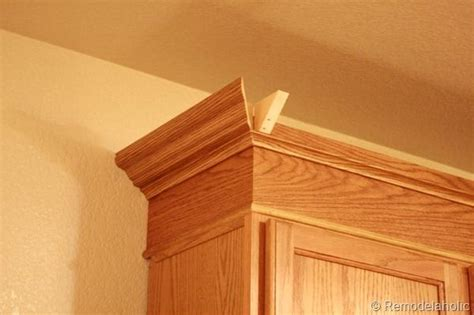 oak cabinet crown molding beechridgecs upgrade oak kitchen cabinets with crown mouldings to