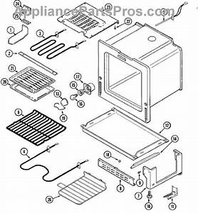 Parts For Maytag Mer5770aaw  Oven    Base Parts