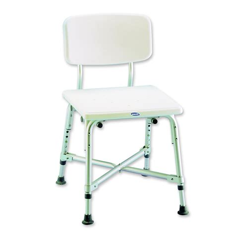 shower chairs deluxe folding shower chair with cutaway
