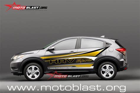 Modifikasi Mobil Hrv Atau Variasi by Car Series Grafis Modif Striping Mobil Honda Hrv