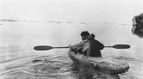 Eskimo Boat by Inuit Kayak Search Nordland Fin Folk And Sea