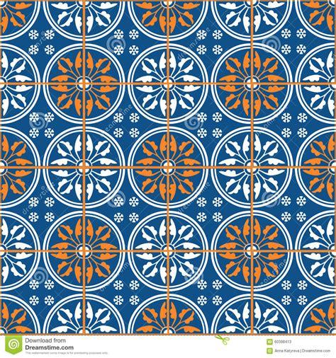 Marokkanische Fliesen Vektor Abbildung Illustration Von