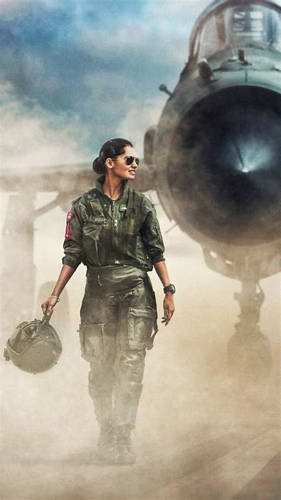 Pilots Woman Jet Fighter Force Air Indian